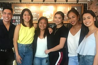 LOOK: Ateneo's 'Fab 5' reunite for 'Down the Line'