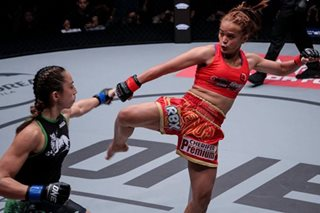 MMA: Gina Iniong learns from tough loss, looks forward to next challenge