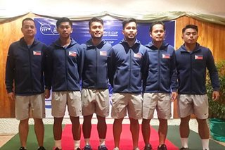 Davis Cup: Jeson Patrombon delivers as PH draws even with Thais on opening day