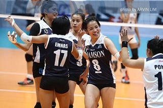 UAAP VOLLEYBALL: Adamson routs UST to end Season 80