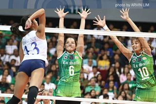 UAAP volleyball: La Salle not even peaking yet, says Baron