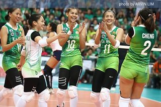 UAAP volleyball: La Salle sends NU packing, sets up finals showdown with FEU
