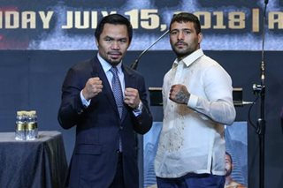 Lucas Matthysse trainer expects champ to hurt Pacquiao