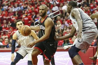 Paul, Rockets cruise past Wolves