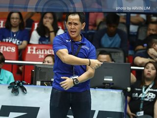 Ateneo coach insists defending champs underdogs against 'strongest team' NU