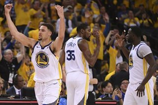 Warriors shut down Spurs to seal series