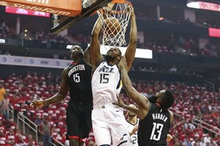 Jazz hold off Rockets, even series