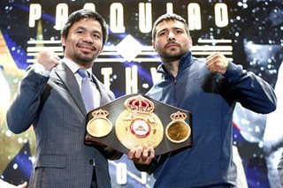 ABS-CBN, SkyCable to broadcast Pacquiao-Matthysse world-title fight