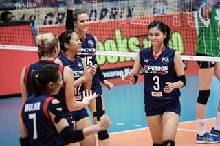 Petron eyeing payback against F2 Logistics in PSL finals