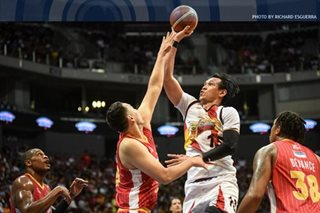 PBA: San Miguel outlasts Ginebra in OT for 2nd straight win