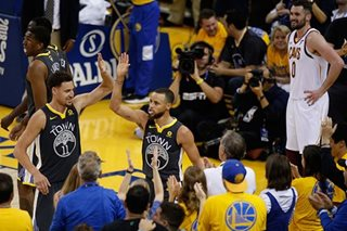 Watch Steph Curry splash an NBA Finals record 9 3-pointers in Game 2