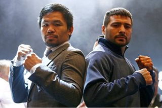 Price range of Pacquiao-Matthysse tickets? From P6,500 to P260,000