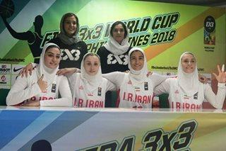 Iranian women make FIBA 3x3 history in PH