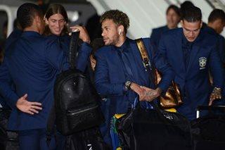 Neymar, Brazil arrive in Russia as clock ticks down to World Cup start