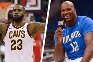 Shaq's advice to LeBron: Don't chase rings
