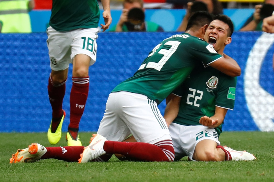 Mexico fans may have caused an quake while celebrating World Cup win