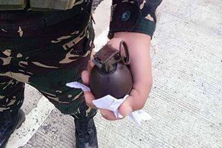 Lalaking may dalang granada, huli sa checkpoint sa Iligan