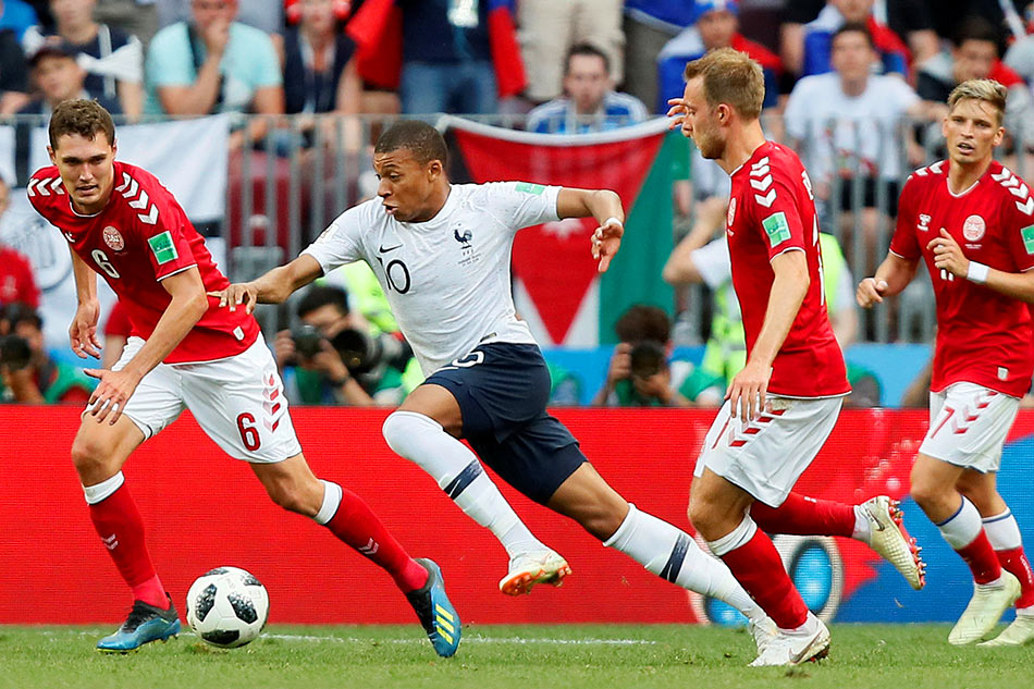Denmark advances at World Cup in drab scoreless draw with France