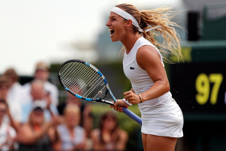 Wimbledon 2018: Slovak tennis start Dominika Cibulkova accused of bad sportsmanship