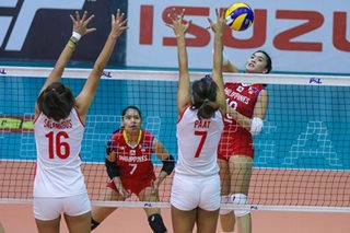 PSL: 8-woman national team sweeps Cignal