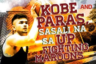 Kobe Paras, sasali na sa UP Fighting Maroons