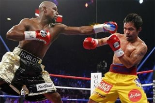 No more Pacquiao? Floyd claims he's being offered $80M for an exhibition