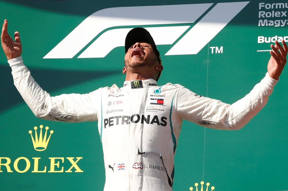 Hamilton in holiday mood after Hungarian victory