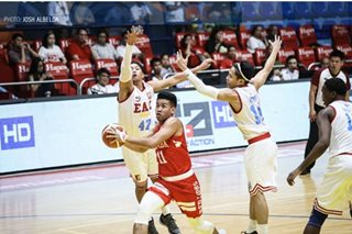 NCAA: San Beda overwhelms EAC, improves to 3-0