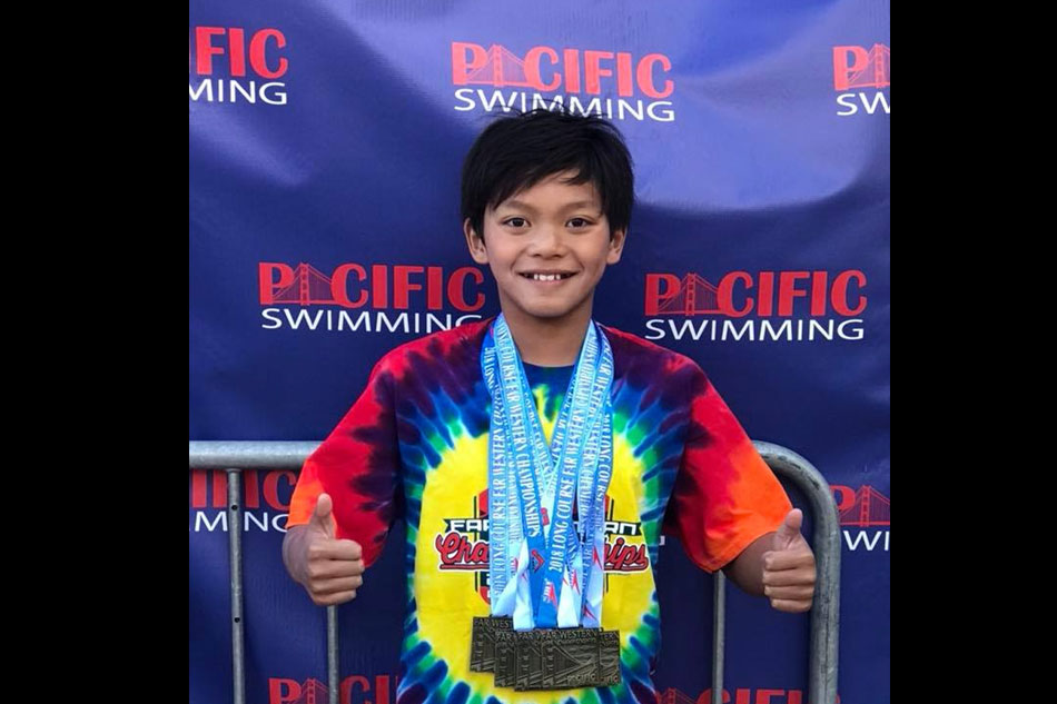 Clark Kent Apuada, 10, breaks Michael Phelps' longest-standing record