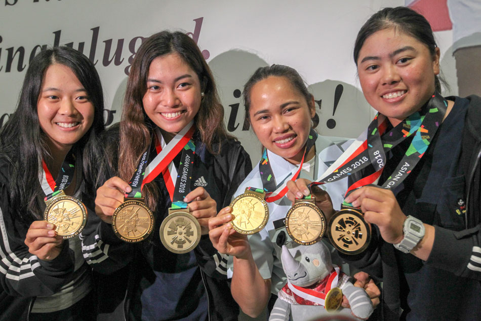 The Philippines' 'golden girls'