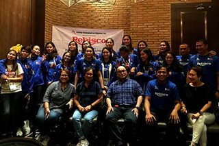 Aby Maraño and co. welcome Rebisco's 'all-out support' for PH volleyball team