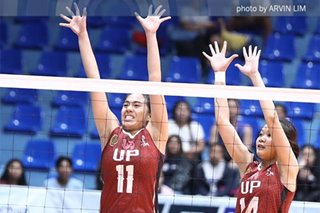 PVL: UP, UST win semis openers to move a win away from title series