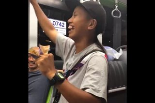 WATCH: Gold medalist Margielyn Didal becomes 'bus conductor' for Gilas