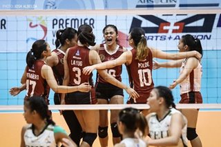 PVL: Lady Maroons top Lady Tamaraws to win Collegiate Conference title
