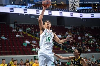 UAAP: La Salle's Baltazar wanted to show ex-coach Ayo how much he improved