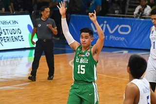 UAAP: Green Archers skipper Kib Montalbo won't let injury stop him from playing