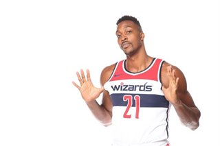 NBA: Sore back might keep Howard out of Wizards' opener