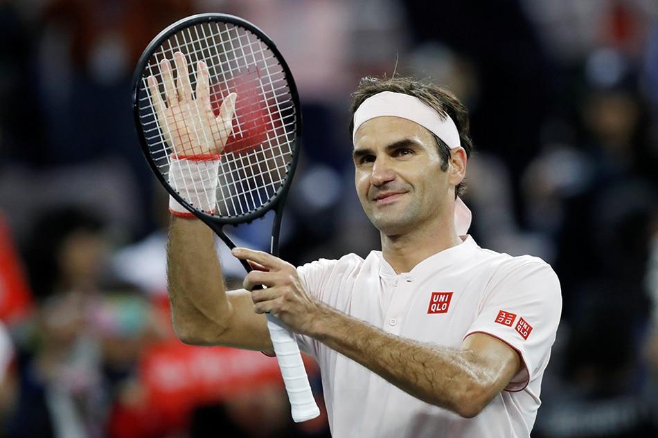 Federer survives Medvedev scare in Shanghai 1
