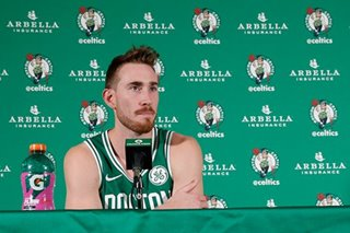Celtics' Hayward dealing with back pain