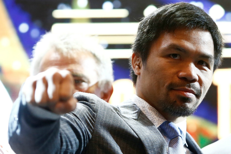 Pacquiao reveals next boxing match
