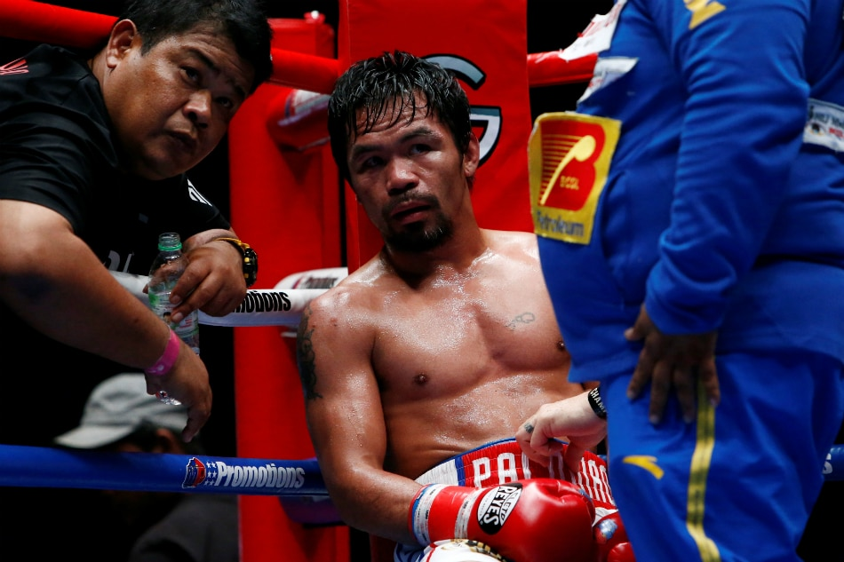 In likely US return Manny Pacquiao will take on Adrien Broner in January. File  Reuters