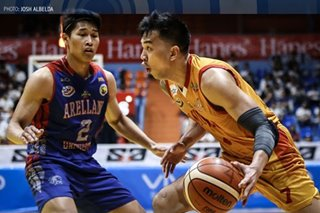 NCAA: San Sebastian ends season on high note, blasts Arellano