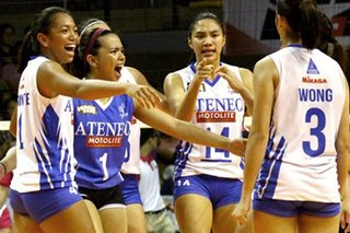 PVL: Complete Ateneo Lady Eagles exact revenge on Cool Smashers