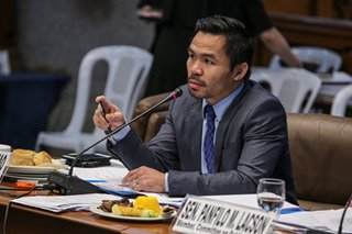 Quarantined Pacquiao says negative for coronavirus after rapid test