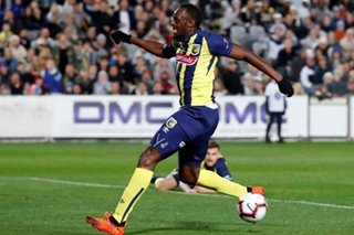 Football: Bolt trial finished at Central Coast Mariners