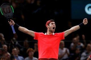 Tennis: Khachanov shocks Djokovic to win Paris crown