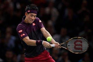 Nishikori to replace Del Potro at ATP Finals