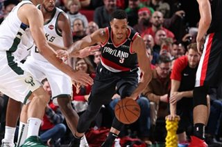 NBA: McCollum guns for 40 as Blazers burn Bucks