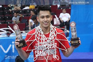 San Beda lifer Javee Mocon gets fitting send-off