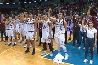 WATCH: Jubilant Fighting Maroons cry tears of joy after UP barges into Final 4